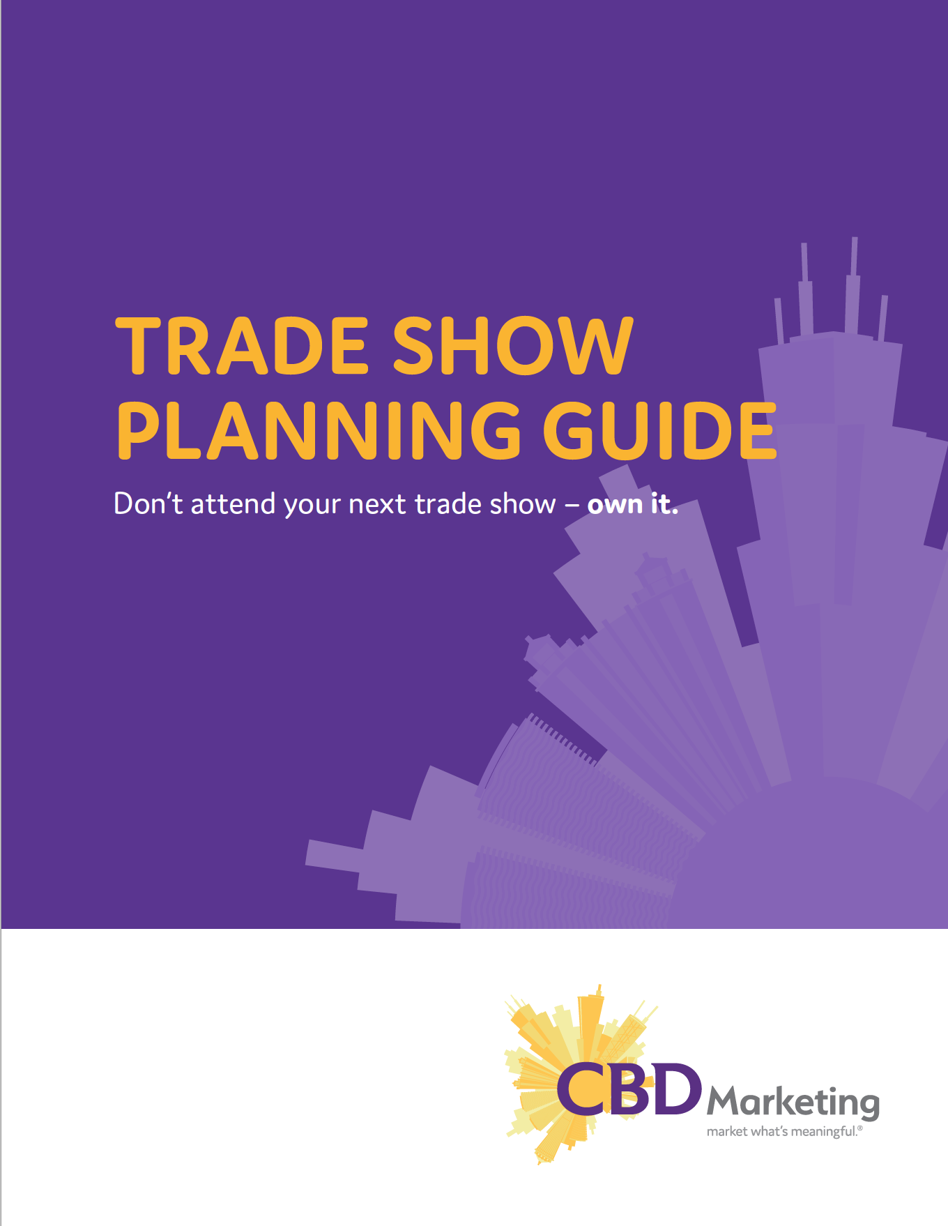 CBD Marketing Trade Show Guide